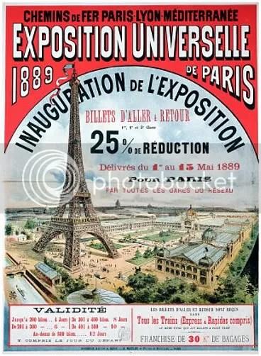 Poster for the Universelle Exposition de 1889, Paris