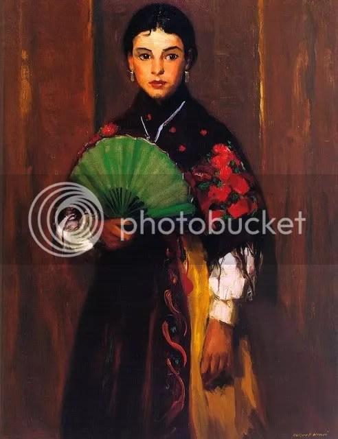 Robert Henri, Spanish Girl of Segovia (1918)