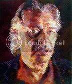 John, Chuck Close. 2000. III color silkscreen. LeWitt Collection, #008962, NBMAA