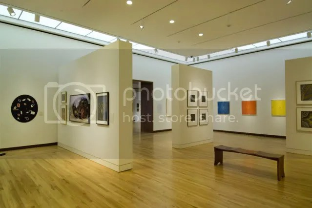 Gallery in New Britain Museum of American Art