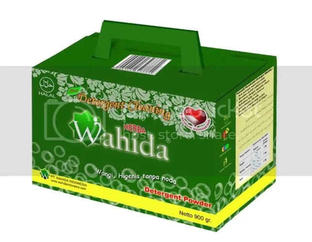 Bio Detergen Wahida, detergen dengan Oxygen Aktif dan ramah lingkungan