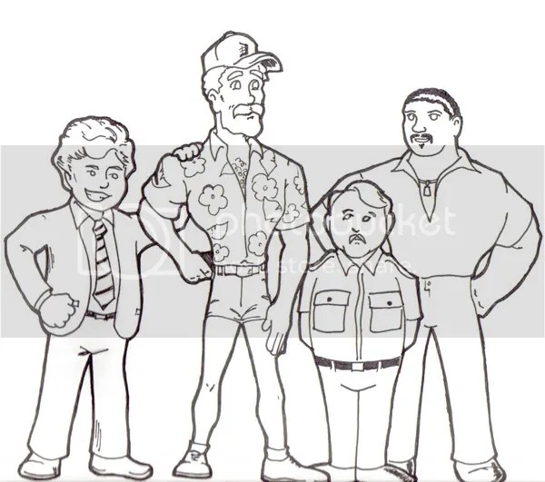 Cast of Magnum P.I.