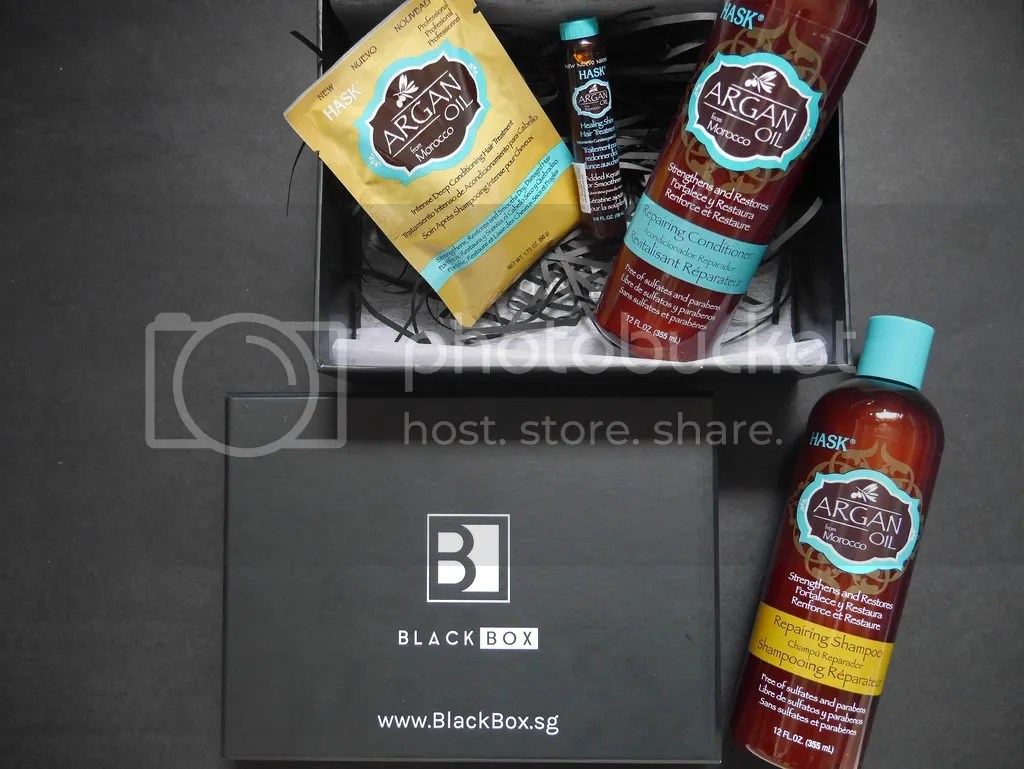 HASK Blackbox Argan Oil Haircare