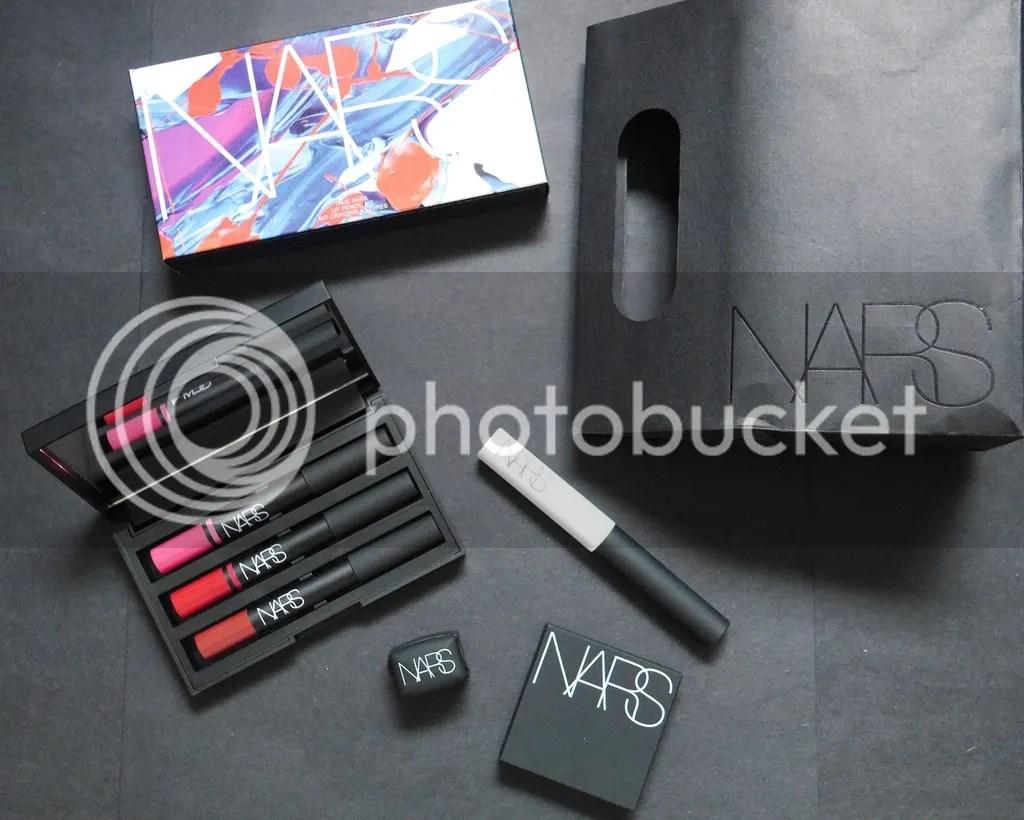 NARS Singapore, Lipstick Eyeshadow primer, Cheek Stain