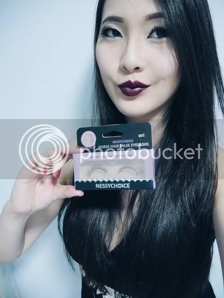 Jean Li (Singapore) - Viktoria Jean, TrinzNessyChoice lashes Singapore