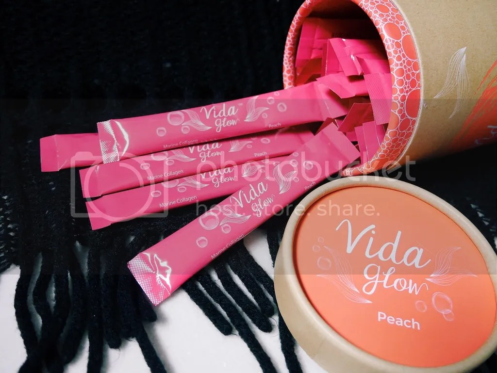 Vida Glow Peach Collagen (Pink)