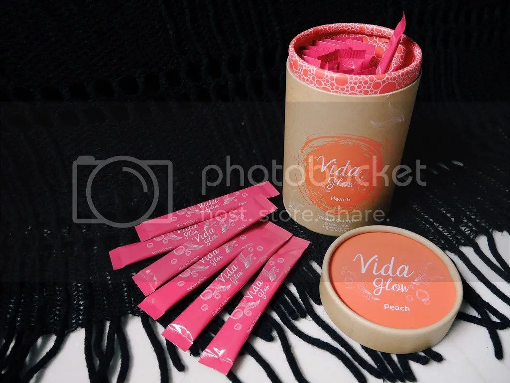 Peach Collagen Vida Glow (Pink)
