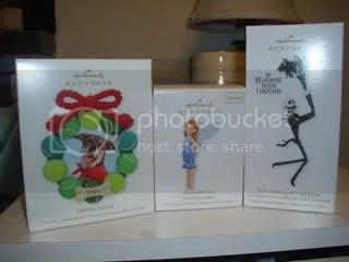 Hallmark Ornaments 2010