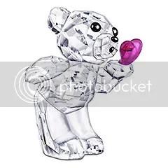 Swarovski Blowing Kisses Figurine