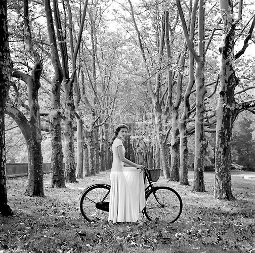 Select a Scene: Lady with Bicycle