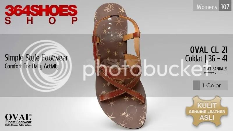 Sandal Wanita OVAL CL 21