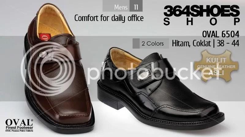 Sepatu Pria OVAL 6504