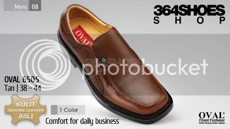 Sepatu Pria OVAL 6505 Warna Tan