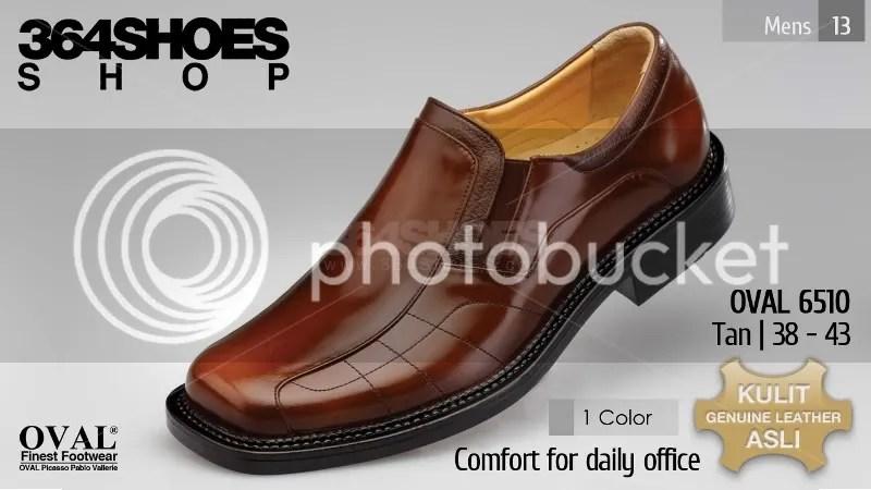 Sepatu Pria OVAL 6510 Warna Tan
