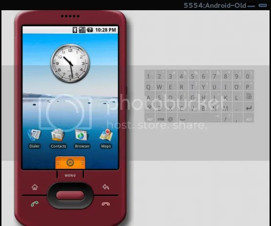 Old Android Virtual Device