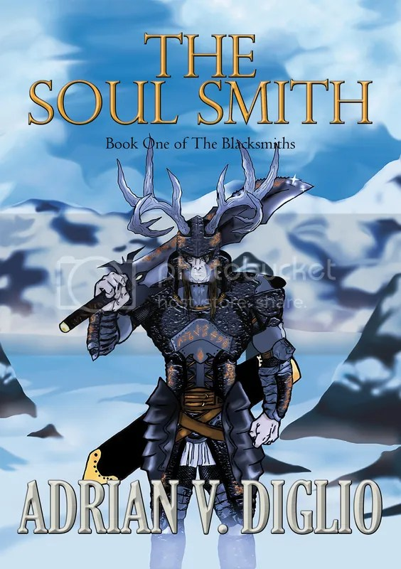The Soul Smith, Adrian V. Diglio, epic fantasy,