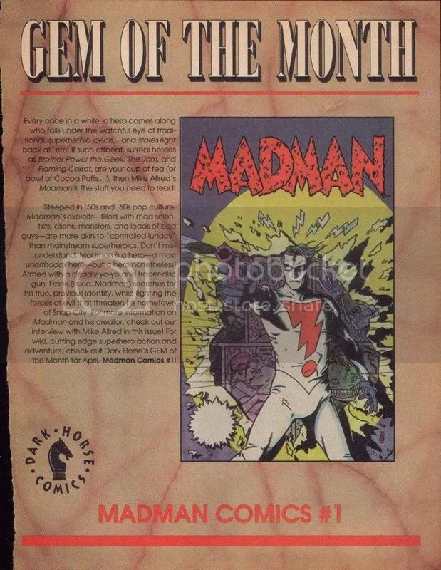 ad for Madman #1