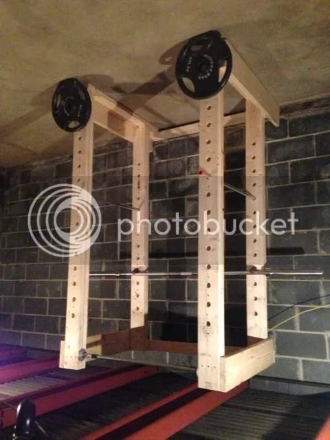 wooden power rack plans