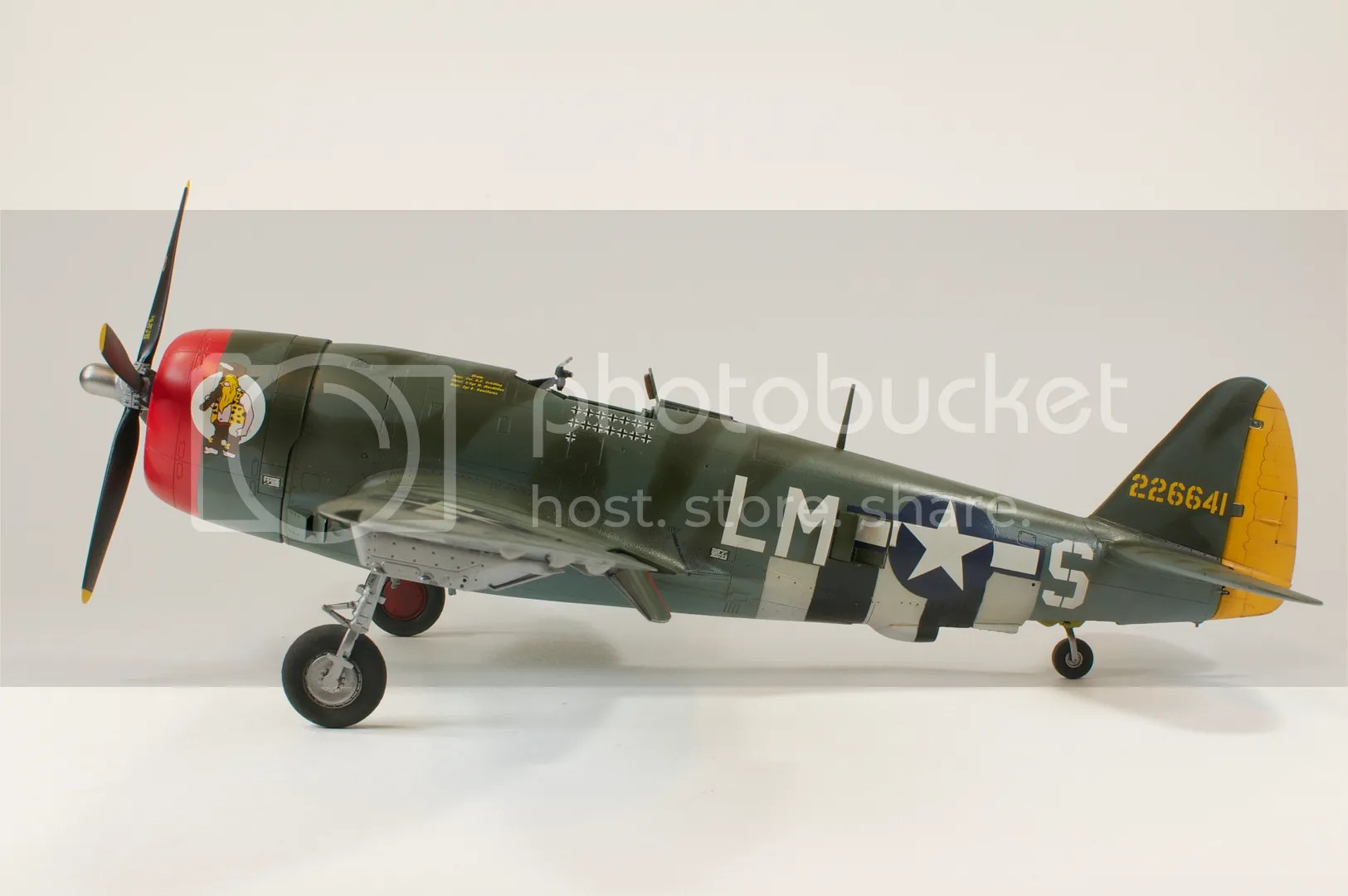 January,1/48,2011,Nikon D300s,Hairless Joe,P-47D Thunderbolt,scale models,Tamiya