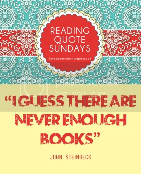 Reading Quote Sundays #9