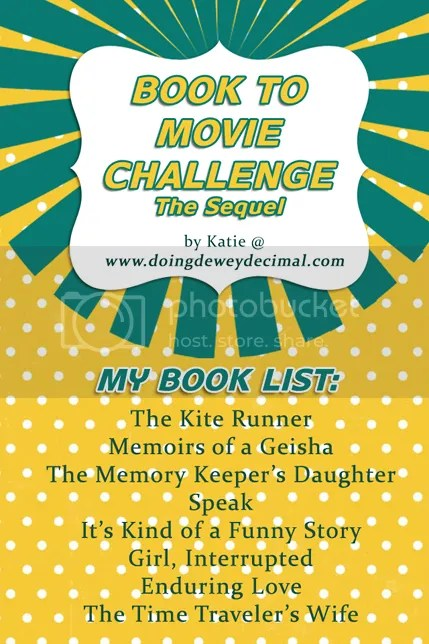2014 Book To Movie Challenge