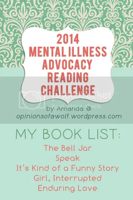 2014 Mental Illness Awareness Reading Challenge