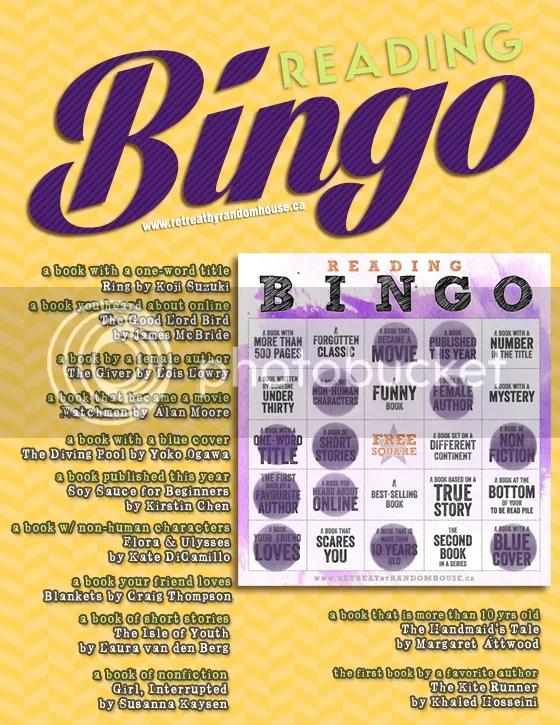 Reading Bingo 2014