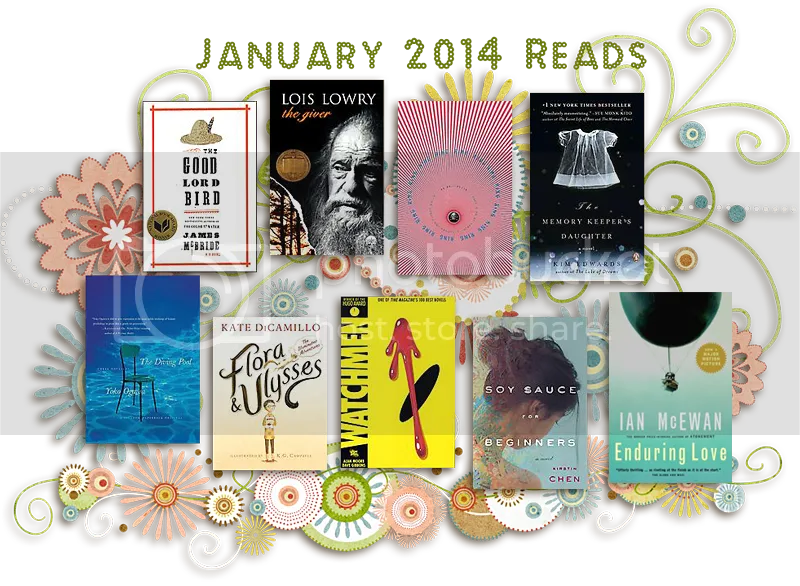 Books Read in January 2014 © The Five-Eyed Bookworm