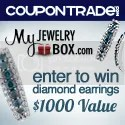 CouponTrade Diamond Earring Giveaway