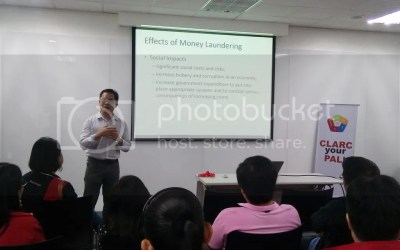 Philam Life CLARC Guest Speaker from Anti Money Laundering