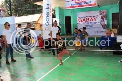 Generika Drugstore Gabay Kalusugan Campaign Kids Enjoying Palarong Kalyesugan