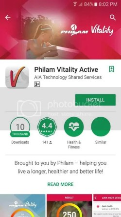 Philam Vitalitity Active App