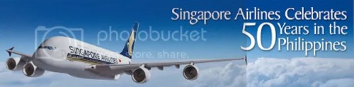 Singapore Airlines Celebrating 50 Years