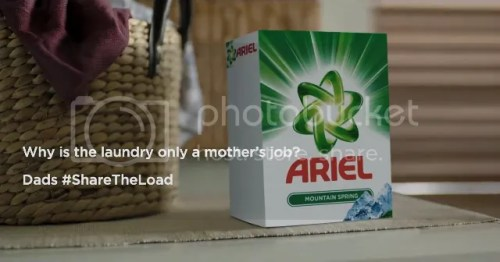 Ariel's #ShareTheLoad Gender Equality Advocacy Campaign