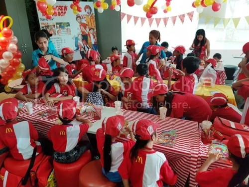 McDonald's Kiddie Crew Workshop Celebrates 25th Year with Right Start Foundation