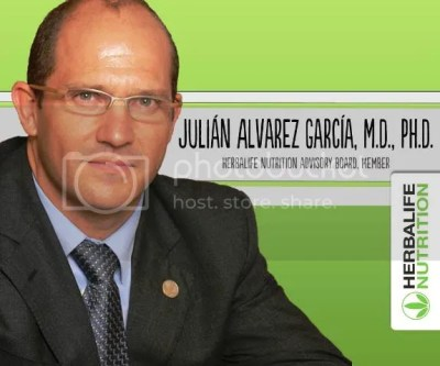 Dr Julian Garcia Herbalife Nutrition Advisory Board and Member