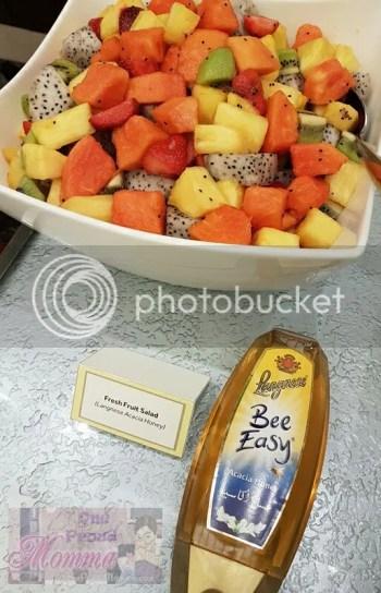 Langnese Honey - Fresh Fruit Salad with Acacia Honey