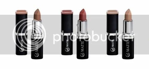 Ever Bilena Nude Collection Lipsticks