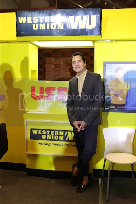 John Lloyd Cruz is the New Global Ambassador of Western Union