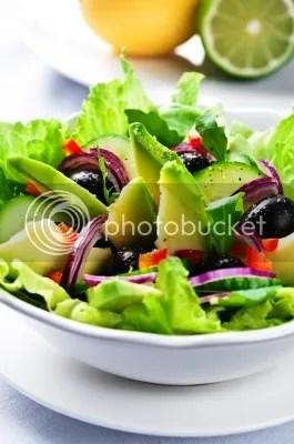 Salad With Avocado by tiramisustudio