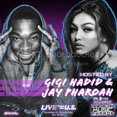 Gigi Hadid & Jay Pharoah to Host the 2016 American Music Awards