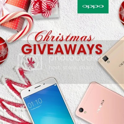 OPPO Philippines Christmas Giveaway