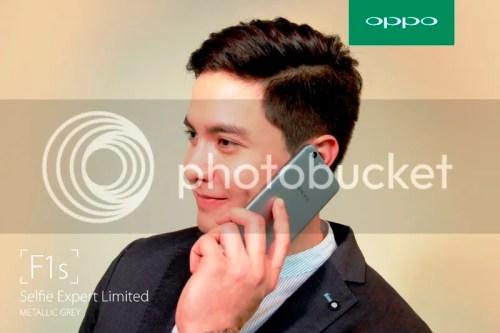 OPPO F1s Limited Alden Richards