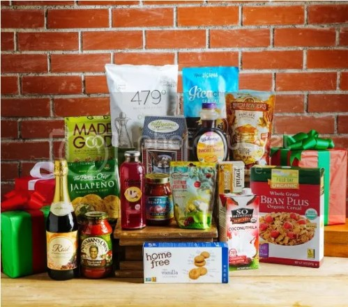 Healthy Options St. Nicholas Holiday Box