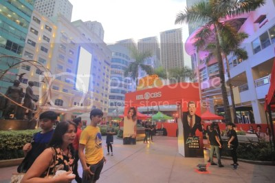 Weekend Fun fair at Eastwood. RTL CBS treats family and friends to an immersive multimedia experience