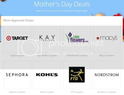 Groupon Coupons Mothers Day Deals