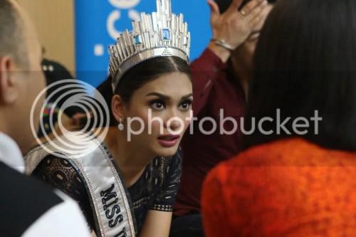 Miss Universe 2015 Pia Alonzo Wurtzbach UNICEF