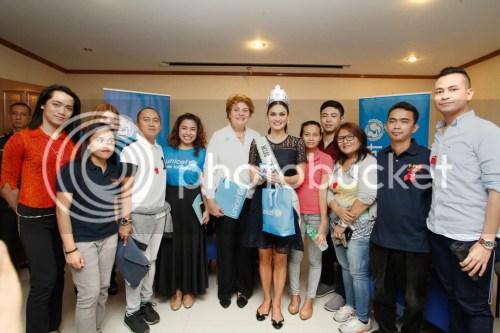 Miss Universe 2015 Pia Wurtzbach UNICEF