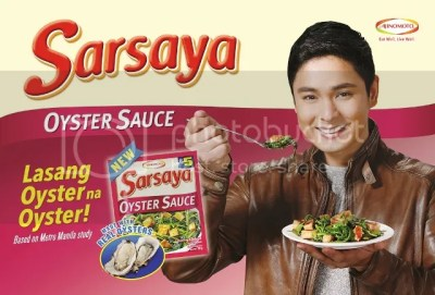 Ajinomoto Launched Sarsaya Oyster Sauce with Coco Martin