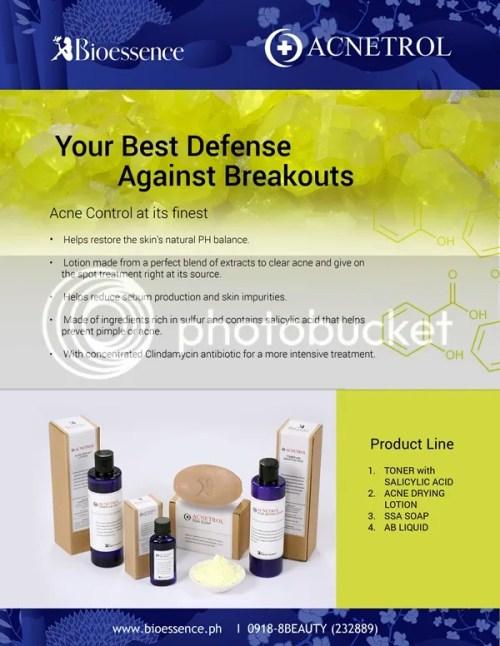 Bioessence Acnetrol Skincare